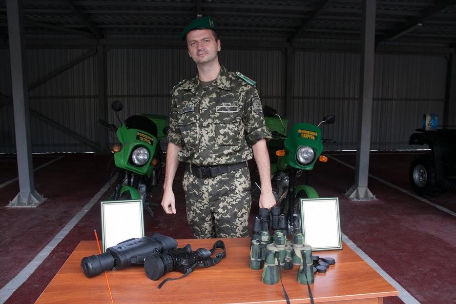 Sprzęt na wyposażeniu Państwowej Służby Granicznej Ukrainy, fot. polukr.net