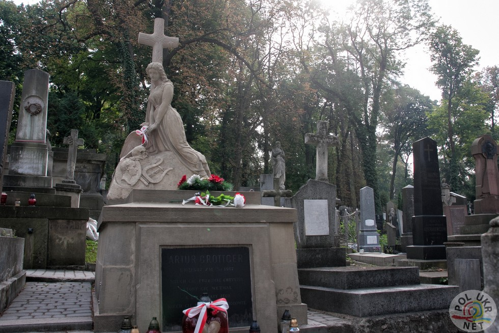 Надгробок Артуру Гроттгеру