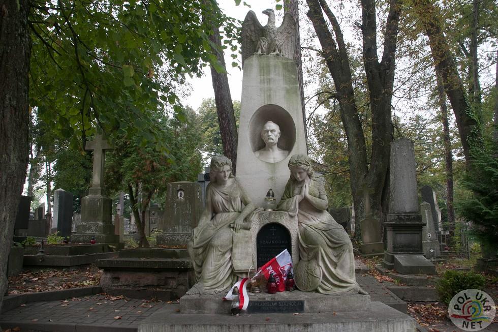 Надгробок Владиславу Шайносі