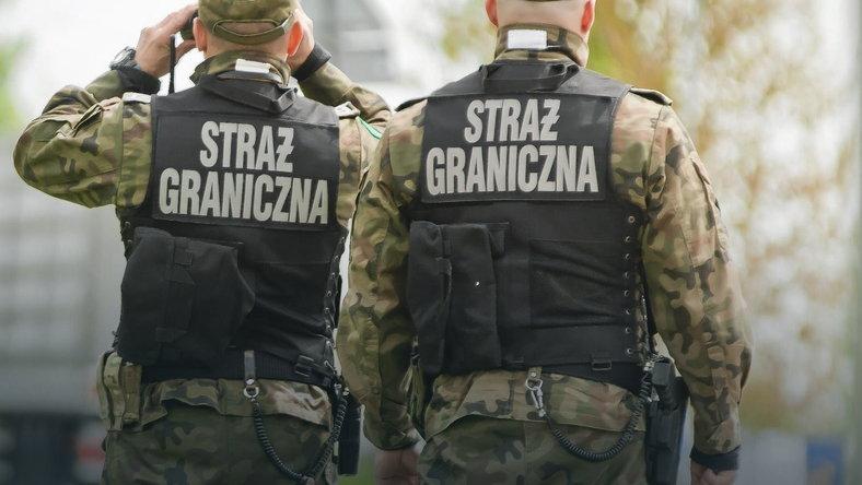 Польські стражі кордону. Фото: Marcin Onufryjuk / Agencja Gazeta