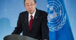 Генсек ООН Пан Гі Мун. Фото: glavcom.ua