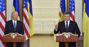 Джозеф Байден і Петро Порошенко. Фото: president.gov.ua