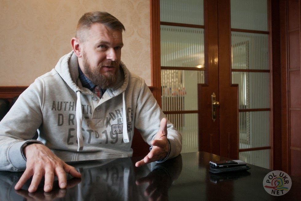 """Лідер гурту """"Тартак"""" - Сашко Положинський. Фото - Андрій Поліковський"""