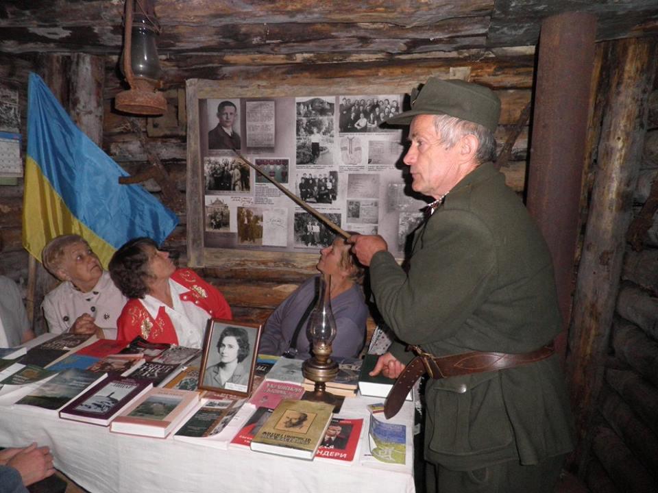 Так виглядав музей-криївка до пожежі. Фото: facebook.com/baskryjivka