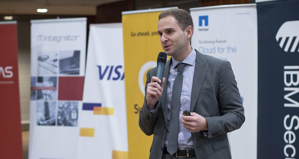 Роман Сологуб. Фото: facebook.com/its.conf
