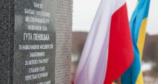 Huta Pieniacka: w zniszczenie pomnika mogą być zamieszani obywatele Rosji