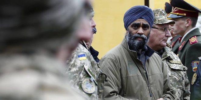 Міністр оборони Канади Харджит Саджан. Фото: polukr.net