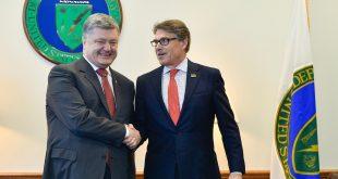 Петро Порошенко і Рік Перрі. Фото: facebook.com/president.gov.ua