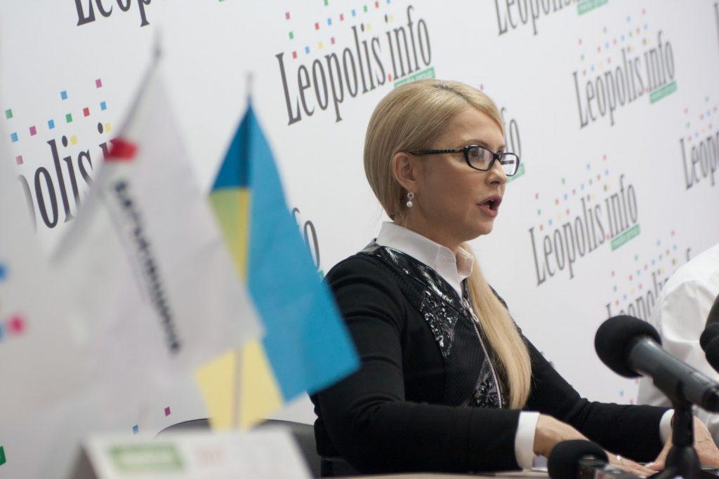 Юлія Тимошенко. Фото: POLUKR.net / Андрій Поліковський