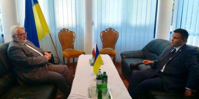 Павло Клімкін та Вітольд Ващиковський. Фото: mfa.gov.ua