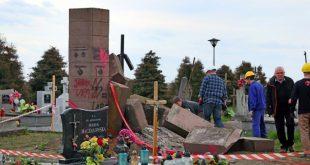 Czy naprawdę części pomnika UPA z Hruszowic wykorzystano do budowy drogi?