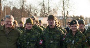 Петро Порошенко та Жулі Пайєтт відвідали Яворівський полігон