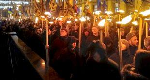 Смолоскипний марш у Києві. Фото: npu.gov.ua