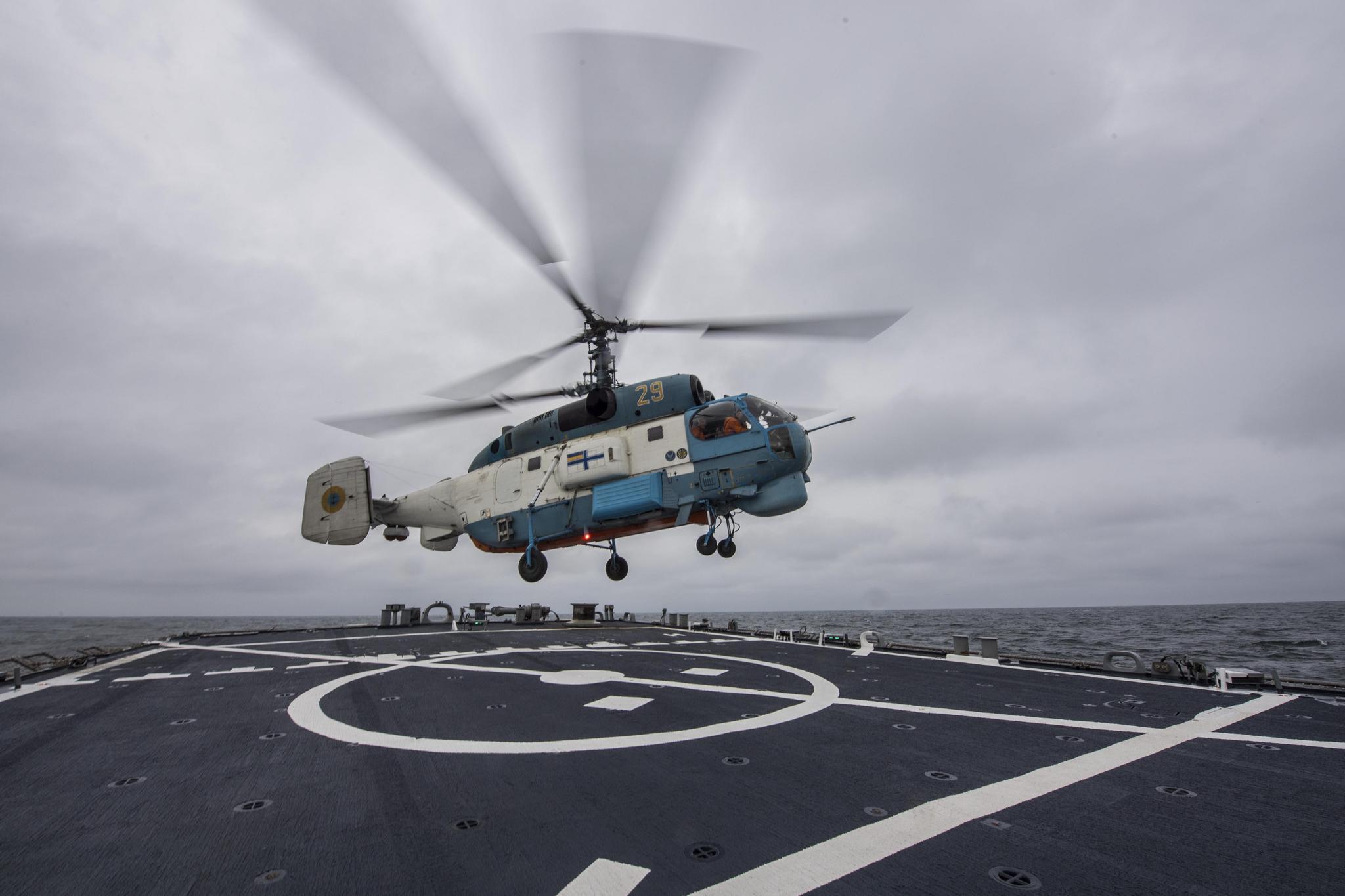 Авіація ВМСУ провела спільне тренування наморі замериканським ракетним есмінцем