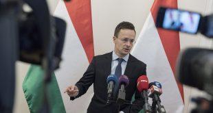 Міністр закордонних справ і торгівлі Угорщини Петер Сійярто. Фото: kormany.hu/ Márton Kovács
