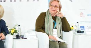 """Олена Малиновська. Фото """"ІІІ Форум десятиліття""""."""