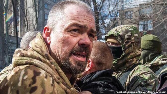 Віталій Олешко. Фото: facebook.com/Виталий Сармат