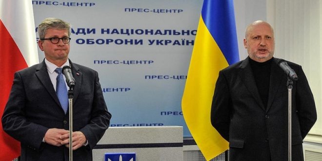 Павел Солох і Олександр Турчинов. Фото: turchynov.com