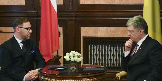 Петро Порошенко й Бартош Ціхоцький. Фото: president.gov.ua