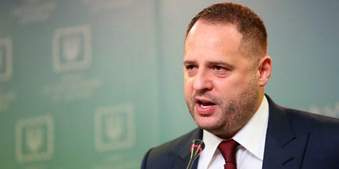 Глава Офісу президента України Андрій Єрмак / Фото slovoidilo.ua