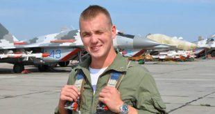 Загиблий пілот Єгор Большаков. Фото: facebook.com/egor.bolshakov