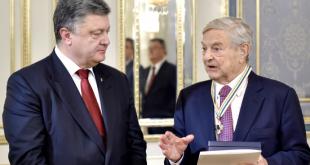 Петро Порошенко і Джордж Сорос. Фото: president.gov.ua