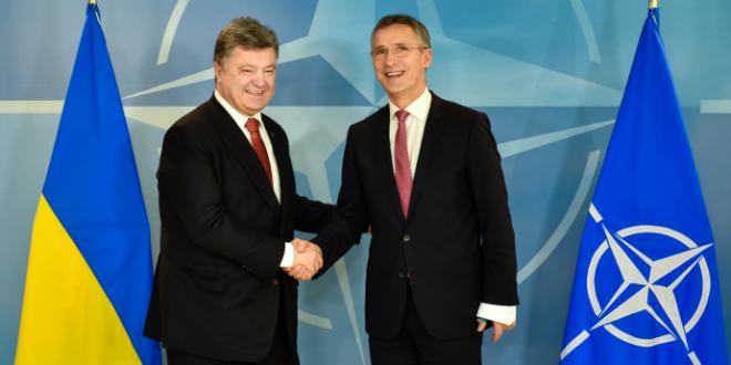 Петро Порошенко та Єнс Столтенберг. Фото: president.gov.ua