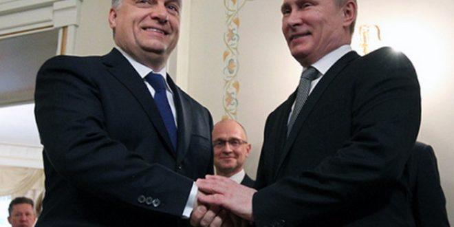 Орбан і Путін. Фото: defence-ua.com