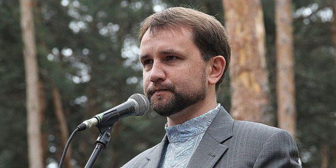 Вoлодимир В'ятрович. Фото POLUKR.net, автор - Андрій Поліковський