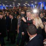 Петро Порошенко на Міжнародному економічному форумі у Львові.