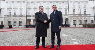 Петро Порошенко й Анджей Дуда. Фото: prezydent.pl