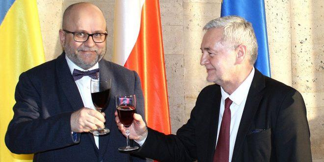 Рафал Вольський і Ян Пєкло. Джерело: facebook.com/pg/PolishEmbassyKyiv. Автор: Анжеліка Плаксіна