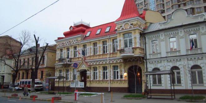 Консульський відділ Посольства Республіки Польща у Києві. Фото: Wikimapia