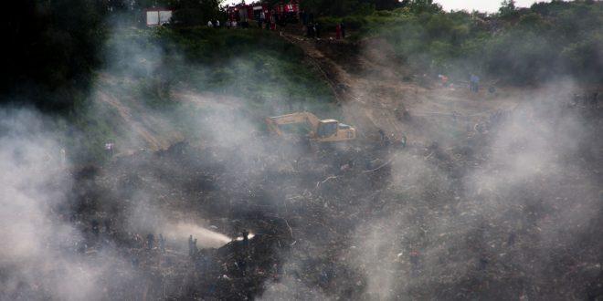 Трагедія на Грибовицькому сміттєзвалищі.. Фото: POLUKR.net / Андрій Поліковський