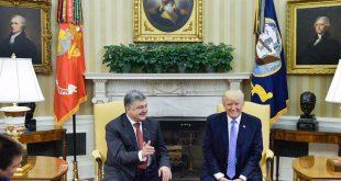 Петро Порошенко і Дональд Трамп. Фото: /twitter.com/poroshenko
