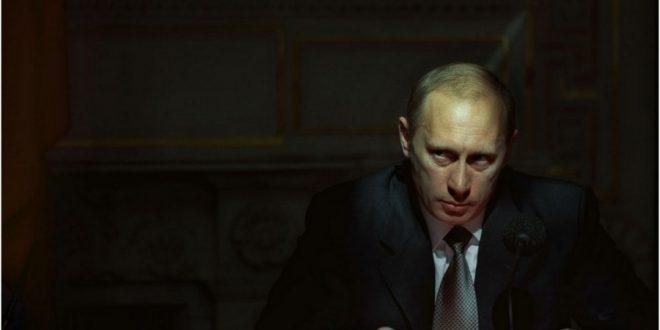 Володимир Путін. Джерело: ibigdan.livejournal.com, автор - Сергій Максимішин.