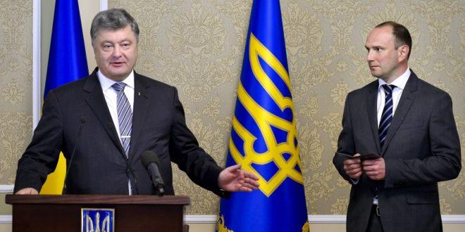 Петро Порошенко та Єгор Божок. Фото: president.gov.ua