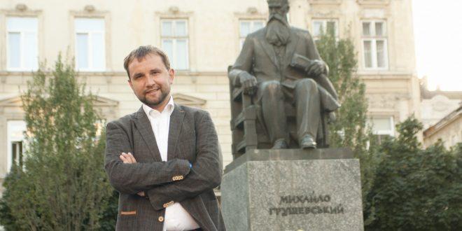 Голова УІНП Володимир В'ятрович. Фото: POLUKR.net / Андрій Поліковський