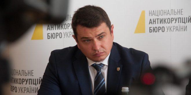 Директор НАБУ Артем Ситник. Фото: POLUKR.net / Андрій Поліковський