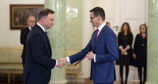 Анджей Дуда й Матеуш Моравецький. Джерело: pis.org.pl
