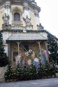 Шопка в архикатедральному Соборі святого Юра