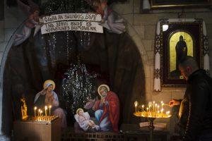 Шопка у Каплиці трьох святителів