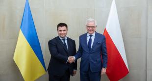 Павло Клімкін та Яцек Чапутович. Джерело: msz.gov.pl