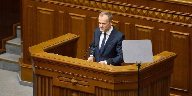 Дональд Туск. Фото: facebook.com/danylo.lubkivsky