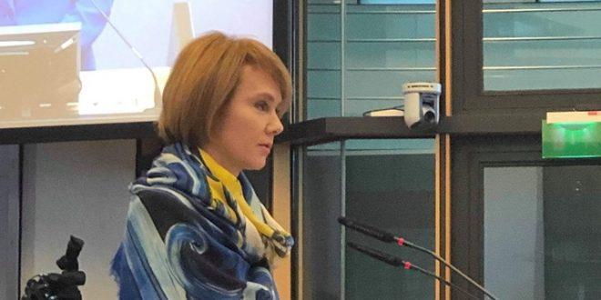 Заступниця міністра закордонних справ України Олена Зеркаль. Фото: facebook.com/lana.zerkal