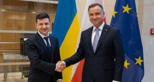 Президенти України та Польщі Володимир Зеленський та Анджей Дуда. Фото: president.gov.ua