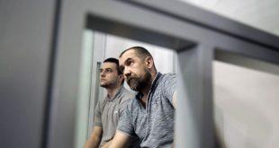 Сергій Торбін (праворуч) та Микита Грабчук, засуджені у справі Гандзюк. Джерело: hromadske.ua