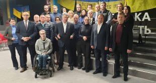 """Члени парламентської фракції партії """"Європейська солідарність"""". Фото: eurosolidarity.org"""