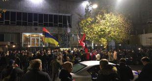 Акція на підтримку Ігоря Мазура біля Посольства Польщі в Києві. Фото: hromadske.ua