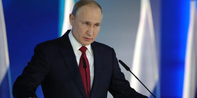 Звернення російського президента Володимира Путіна до Федеральних зборів / Фото kremlin.ru